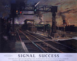 'Signal Succes', BR poster, 1940s.