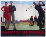 'North Berwick', LNER poster, 1923-1947.