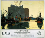 'Fleetwood', LMS poster, 1923-1945.