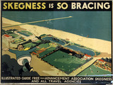 'Skegnes is So Bracing', poster, 1923-1947.