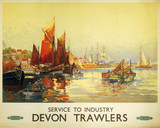 'Service to Industry - Devon Trawlers', BR
