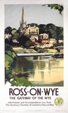 'Ross-on-Wye', GWR poster, 1938.