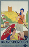 'Knaresborough', LNER poster, c 1930.