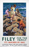 'Filey for the Family', LNER poster, 1935.