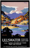 'Ullswater - English Lake-Land', LNER poster, 1923-1947.