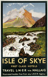 'Isle of Skye - First Clas Hotels', LNER poster, 1923-1947.