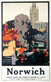 'Norwich', LNER poster, 1932.