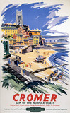'Cromer - Gem of the Norfolk Coast', BR (ER) poster, 1948-1965.