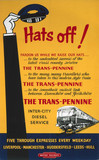 'Hats Off!', BR poster, 1948-1965.
