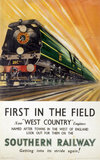 'First in the Field', SR poster, 1946.