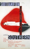 'Southampton Central Station', SR poster, 1936.