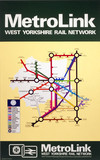 'Metrolink - West Yorkshire Rail Network', BR poster, 1977.