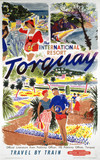 'Torquay', BR poster, 1956.