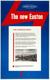 'The New Euston - The Parcels Depot', c 1960s.