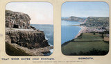 Tilly Whim Caves, Dorset, and Sidmouth, Devon, 1910s.