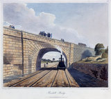 Rainhill Bridge, Chat Moss, near Liverpool, 1831.