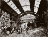 Constructing Paddington (Praed Street) Station, London, 1866-8.