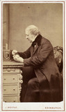 William Henry Fox Talbot, English pioneer of photography, c 1860s.