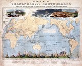 'Phenomena of Volcanoes and Earthquakes', 1852.
