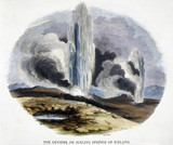 'The Geysers, or Boiling Springs of Iceland', 1849.