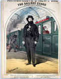 'The Railway Guard', 1870.