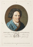 Bernard le Bovier de Fontenelle, French philosopher and writer, early 18th century.