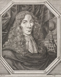 Robert Boyle, Irish physicist and chemist, c 1670.