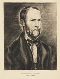 Heinrich Hertz, German physicist, late 19th century.
