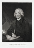 Joseph Priestley, English-American theologian and chemist, 1794.