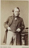 Lyon Playfair, Baron St Andrews, Scottish chemist and politician, c 1870.