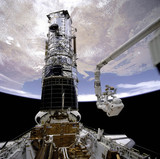 Hubble First Servicing EVA, 1993.