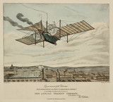 Henson's proposed flying machine, the 'Ariel', 1843.