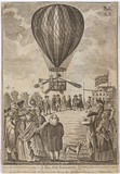 Lunardi's balloon ascent, 15 September 1784.