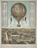 'General View of Paris', France, 1871.