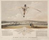 'The aerostat - Worked by Manual Power', 1843.