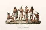 Inhabitants of the island of Rotuma, (now part of Fiji), 1822-1825.