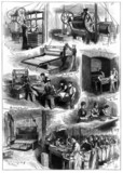 Biscuit-making at Peek, Frean & Co, 1874.