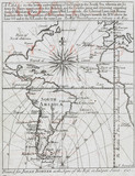 Map of South America, 1717.