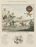 'Infallible method of steering of balloons', late 18th century.