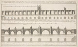 Plans of London Bridge, 1746.