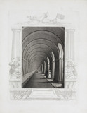 'Thames Tunnel', London, c 1839.