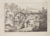 'A Mill at Colebrook Dale', Shropshire, 1814.