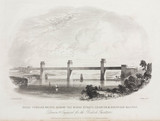'Great Tubular Bridge acros the Menai Strait', Wales, 1851.