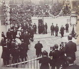 Opening ceremony of the Rotherhithe Tunnel, London, 12 June 1908.