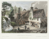 Iron Forge at Rouillon, Belgium, c 18th century.