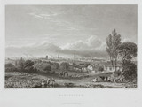 View of the city of Manchester, 1834.