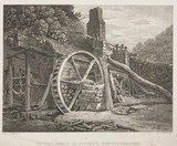 'An iron forge at Tintern Monmouthshire', Wales, 19th century.