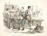 Brick making, 1821.