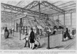 Machines displayed at the Great Exhibition, London, 1851.
