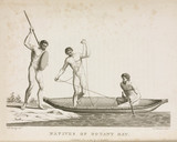 'Natives of Botany Bay', Australia, c 1788.